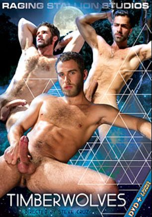Timberwolves, starring Shawn Wolfe, Jimmy Fanz, Tommy Defendi, Boomer Banks, Aleks Buldocek, Adam Ramzi, Marcus Isaacs and James Jamesson, produced by Raging Stallion Studios and Falcon Studios Group.