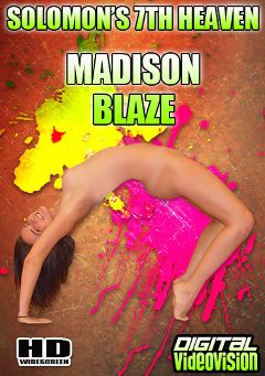 "Adult entertainment movie ""Solomon's 7th Heaven: Madison Blaze"" starring Madisin Blaze & David Solomon. Produced by Digital Videovision."