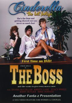 "Adult entertainment movie ""The Boss"" starring Shannon McCullough, Angel Kelly & Krista Lane. Produced by Cinderella-Lost Footage."