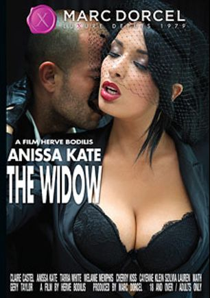 Anissa Kate: The Widow, starring Anissa Kate, Tamas Vecsei, Cherry Kiss, Markus Tynai, Melanie Memphis, Claire Castel, Cayenne Klein, Gerry Taylor, Szilvya Lauren, Tarra White, Renato and James Brossman, produced by Marc Dorcel and Marc Dorcel SBO.