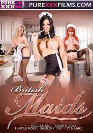 """Featured Studio - Purexxxfilms presents the adult entertainment movie """"British Maids""""."""