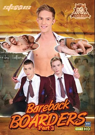 Bareback Boarders 3, starring Jaye Elektra, Jaxon Radoc, Jaden Fox, Oscar Roberts, Connor Levi, Jayden Middleton, Rhys Casey and Tim Law, produced by Staxus.