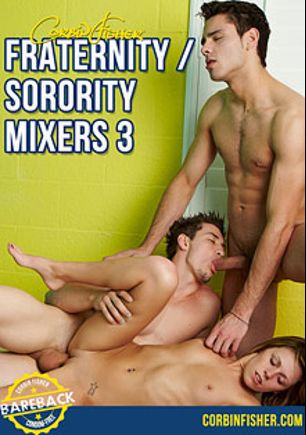 Fraternity Sorority Mixers 3, starring Zeb (Corbin Fisher), Cain (Corbin Fisher), Trey (Corbin Fisher), Connor, Delila Darling and Chloe, produced by Corbin Fisher.