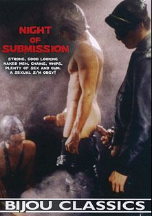 Night Of Submission, starring Gunther, Hubert, Frank, Edgardo Dolger, Guschi Schulz, Harry Ros, Werner, Sven and Walter, produced by Bijou Gay Classics.