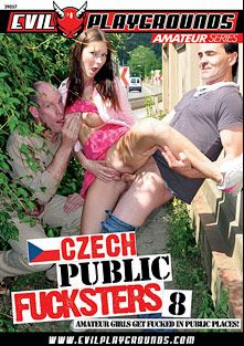 Czech Public Fucksters 8, starring Lucie, Tereza (f), Kristyna and Olga, produced by Gothic Media, Sunset Media and Evil Playgrounds.
