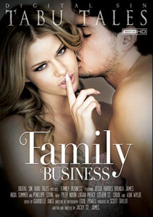Family Business, starring Jessa Rhodes, Penelope Stone, Tyler Nixon, Van Wylde, Logan Pierce, Brenda James, India Summer and Steven St. Croix, produced by Digital Sin.