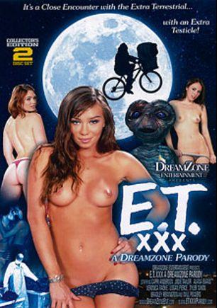 E.T. The XXX Parody, starring Veronica Radke, Jodi Taylor, Capri Anderson, Bradley Remington, Tyler Nixon, Logan Pierce, Will Powers and Alana Evans, produced by DreamZone.