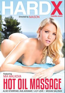 Hot Oil Massage, starring Mia Malkova, Megan Salinas, Ava Addams, Criss Strokes, Lily Love, James Deen, Manuel Ferrara and Erik Everhard, produced by Hard X.