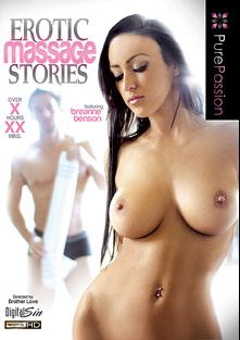 Erotic Massage Stories, starring Breanne Benson, Kevin Crows, Logan Pierce, Anissa Kate, Holly Michaels, Samantha Saint, Bill Bailey, Aleksa Nichole, Johnny Castle and Chris Johnson, produced by Pure Passion.