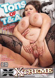 Tons Of T And A, starring K.C. Parker, Star XXX, Joslyn Underwood, Jayden Heart (f), Dirty Harry and Scarlet, produced by Platinum X Pictures.