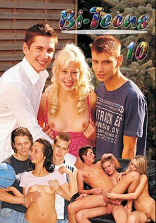 Bi Teens 10, starring Teena Blond, Angela Devil, Tack Cool, Rico Armin, Martin Corvin, Nick Kamehn and Tommy Sem, produced by Tino Media.