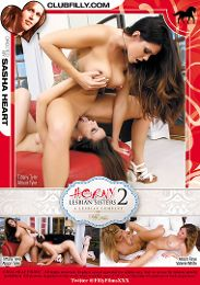 """Featured Studio - Filly Films presents the adult entertainment movie """"Horny Lesbian Sisters 2""""."""