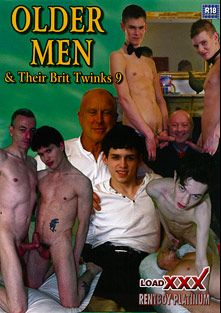 Older Men And Their Brit Twinks 9, starring Del Does, John David, Skye Romeo, Sean Mann, Drake Law, Aaron Aurora, Bryan Moore, Scott Davies and Jo Jo Jons, produced by Load Enterprises and Rentboy.