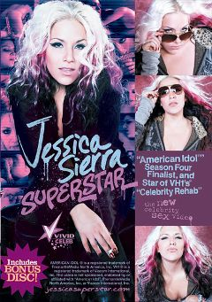 "Adult entertainment movie ""Jessica Sierra Superstar"" starring Jessica Sierra & Charles C. Youngblood. Produced by Vivid Entertainment."