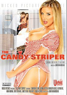 The Candy Striper, starring Samantha Saint, Anastasia Morna, Brooklyn Chase, Rilynn Rae, Bonnie Rotten, Xander Corvus, James Deen, Toni Ribas and Erik Everhard, produced by Wicked Pictures.