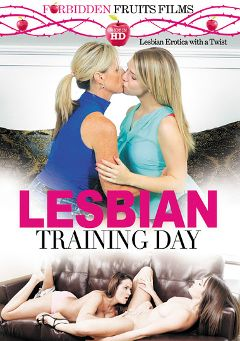 "Adult entertainment movie ""Lesbian Training Day"" starring Serena Torres, Dixie Belle & Amy Fair. Produced by Forbidden Fruits Films."