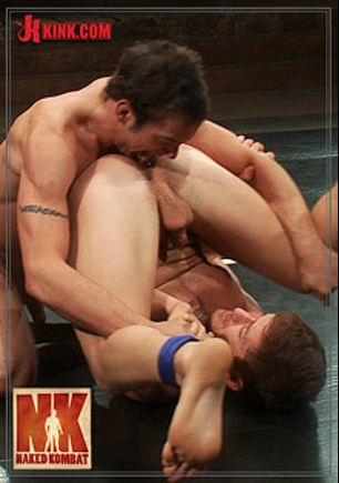 Naked Kombat: Steve Sterling Vs DJ, starring DJ (Kink) and Steve Sterling, produced by KinkMen.
