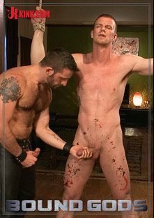 Bound Gods: Bondage House Call, starring Morgan Black and Blake Daniels, produced by KinkMen.