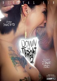 "Featured Category - Blowjob presents the adult entertainment movie ""Down The Throat 2""."