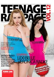 "Featured Star - Lexi Belle presents the adult entertainment movie ""Teenage Rampage 12""."
