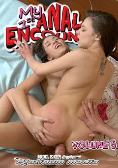 "Adult entertainment movie ""My 1st Anal Encounter 5"" starring Grace Young, Madlen & Jamina. Produced by Platinum Media."