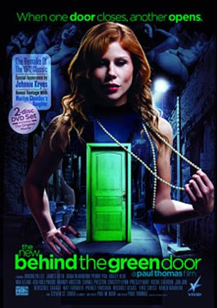 The New Behind The Green Door, starring Dahlia Sky, Penny Pax, Richie's Brain, Presley Hart, Mischa Brooks, Shylar Cobi, Andy Appleton, Ash Hollywood, Brooklyn Lee, Brandy Aniston, Chanel Preston, Michael Vegas, Thomas Ward, Carlo Carrera, Chastity Lynn, Prince Yahshua, Eric Swiss, Jon Jon, Mia Lelani, Dana DeArmond, Nat Turner, James Deen, Johnnie Keyes, Steven St. Croix, Kylie Ireland and Herschel Savage, produced by Vivid Entertainment.