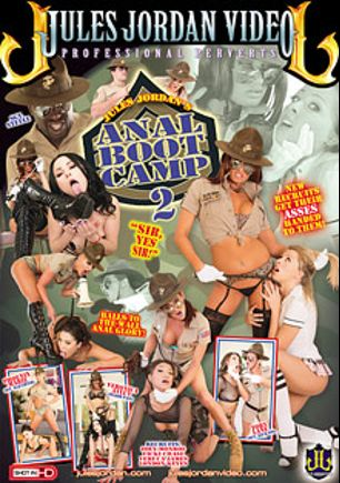 Anal Boot Camp 2, starring Veruca James, Zoey Monroe, Veronica Avluv, Vicki Chase, London Keyes, Phoenix Marie, Tory Lane, Criss Strokes, Ramon Nomar and Lexington Steele, produced by Jules Jordan Video.