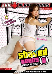 """Featured Studio - Evil Playgrounds presents the adult entertainment movie """"Shaved Teens From Russia 8""""."""