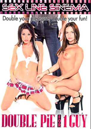 Double Pie For 1 Guy, starring Jersey Jean, Isabella, Reno D'angelo, Kala Prettyman, Lacey Luv, Sheila Marie, Rosanna Rose, Britney Stevens, Amber Rayne, Jay Huntington, Randi Wright, Buster Good, Dick Delaware, Savannah and John West, produced by K-Beech and Sex Line Sinema.
