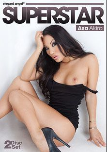 Superstar: Asa Akira Part 2, starring Asa Akira, Jessie Andrews, Kristina Rose, Alexis Texas, James Deen, L.T. Turner, Ramon Nomar, Mick Blue, Manuel Ferrara, Toni Ribas, Erik Everhard, Lexington Steele and Nacho Vidal, produced by Elegant Angel Productions.