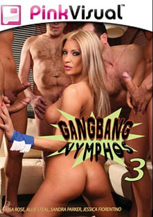 Gangbang Nymphos 3, starring Lisa Rose, Mugur, Martin Gun, Jason Brown, Allie Steal, Sandra Parker, Mark Zebro, Lee Bang, Denis Reed, Valentino, Joe Friday, Titus Steel, Lauro Giotto, Reinhardt, George Uhl, James Brossman, Jessica Fiorentino and Frank Gun, produced by Pink Visual.