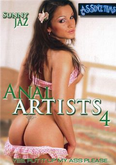 "Adult entertainment movie ""Anal Artists 4"" starring Sunny Jaz, Jazmine & Kelly. Produced by Assence Films."