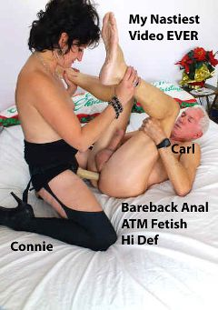 "Adult entertainment movie ""My Nastiest Video Ever"" starring Connie (Hot Clits) & Carl Hubay. Produced by Hot Clits Video."