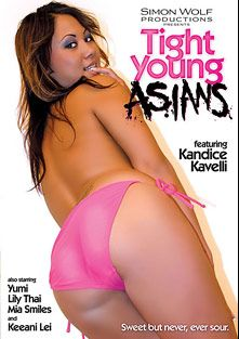 Tight Young Asians, starring Kandice Kavelli, Yumi Lee, Keeani Lei, Lily Thai and Mia Smiles, produced by Simon Wolf.