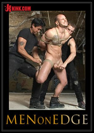 Men On Edge: Straight German Stud Gets Edged While His Girlfriend Watches, starring Kris Hoolywood and Sebastian Keys, produced by KinkMen.