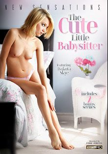 The Cute Little Babysitter, starring Dakota Skye, Jasmine Caro, Penelope Stone, Leah Cortez, Roxanne Rae, Jessica Robbin, Christian XXX, Alec Knight, Mick Blue and Steven St. Croix, produced by New Sensations.