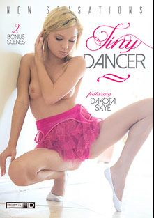 Tiny Dancer, starring Dakota Skye, Skylar Green, Veronica Radke, Presley Hart, Britney Beth, Bruce Venture, Eve Evans, Mick Blue and Mr. Pete, produced by New Sensations.