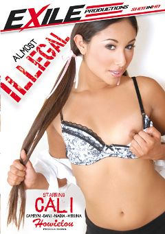 "Adult entertainment movie ""Almost Illegal"" starring Cali Lee, Dani Jensen & Virginia Want. Produced by Exile Productions."