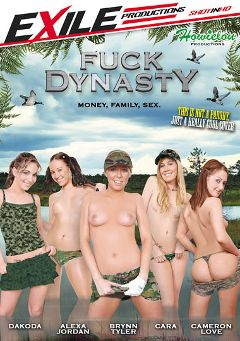 "Adult entertainment movie ""Fuck Dynasty"" starring Cameron Love, Brynn Tyler & Dakoda Brookes. Produced by Exile Productions."