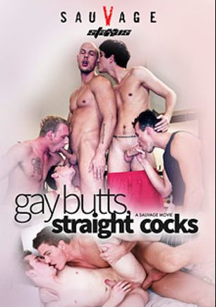 Gay Butts, Straight Cocks, starring Paul Cube, Brent Davon, Tommy Caban, Johny Bravo, Carl Baxter, Aslan Brutti, Angel Dee, Ruslan Tarovsky, Rob Levin, Brian Nash, Julien Adagio, Damian Dickey and Mark Lee, produced by Staxus.