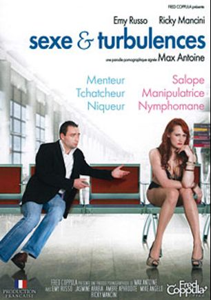 Sexe And Turbulences, starring Emy Russo, Ambre Aphrodite, Jasmine Arabia, Ricky Mancini and Mike Angelo, produced by JTC Video.