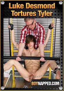Luke Desmond Punishes Tyler, starring Sebastian Kain, Tyler Brooks and Luke Desmond, produced by BoyNapped.