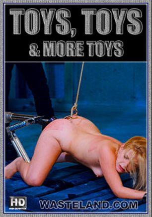 Toys, Toys, And More Toys, starring Goddess Starla, Jada Sinn, Eric X and Mistress Irony, produced by Wasteland Studios.