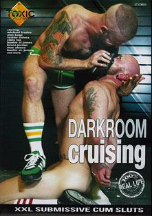 Darkroom Cruising, starring Fostter Riviera, Alex Kage, Michael Traziro, Bruce Jordan, Hunter St. James, Max Alonzo and Chris Tee, produced by Vimpex Gay Media.