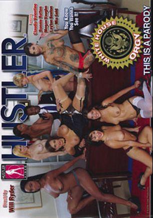 White House Orgy, starring Layton Benton, Mia Gold, Bonnie Rotten, Megan Vaughn, Claudia Valentine, Eric John, Tyler Knight, Mark Wood and Lisa Ann, produced by Hustler.