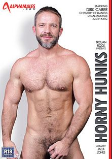 Horny Hunks, starring Dirk Caber, J.P. Richards, Justin King, Christopher Daniels, Lucio Saint, Scott Hunter and Dean Monroe, produced by Eurocreme Group and Alphamales Studio.