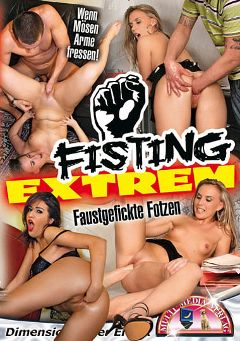 "Adult entertainment movie ""Fisting Extrem"" starring Christina, Claudia & Mery. Produced by MMV Multi Media Verlag."