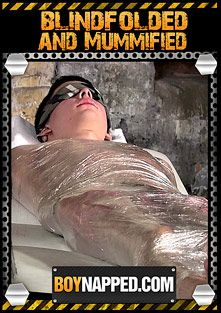 Boynapped 285: Blindfolded And Mummified, starring Aaron Aurora and Sebastian Kain, produced by BoyNapped.