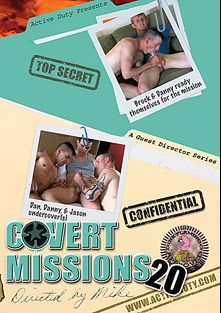 Covert Missions 20, starring Dan, Jason *, Brock, Danny (m), Lance (Pink Bird Media) and Wayne, produced by Active Duty.