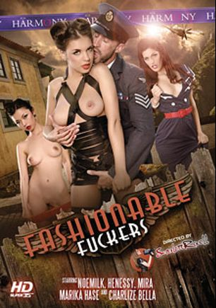 Fashionable Fuckers, starring Mira Sunset, Marika Hase, Henessy, Charlyse Angel, Noe Milk, Marco Banderas, Tony De Sergio and Ian Scott, produced by Harmony Films Ltd..